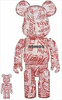 $499.98 • Buy BE@RBRICK Atmos × Coca-Cola 100% & 400% CLEAR BODY MEDICOM TOY BEARBRICK JAPAN