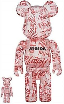 $358.98 • Buy BE@RBRICK Atmos × Coca-Cola 100% & 400% CLEAR BODY MEDICOM TOY BEARBRICK JAPAN
