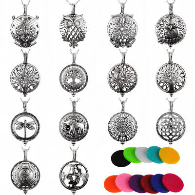 AU2.49 • Buy Tree Of Life Aromatherapy Perfume Essential Oil Diffuser Necklace Pendant Locket