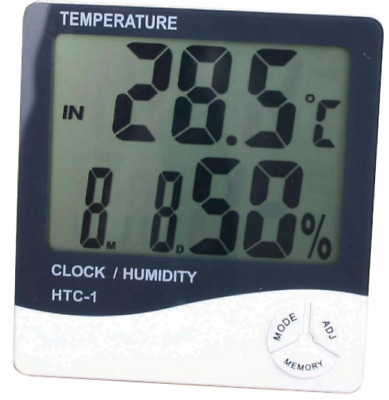 Digital Combined Thermometer & Hygrometer 1 Or 2 Probe Grow Room Hydro • 21.99£