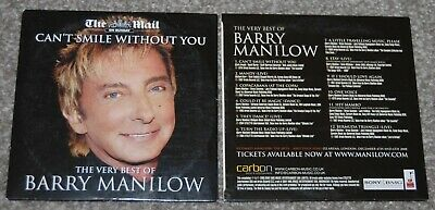 Barry Manilow - The Very Best Of - Cd - 12 Tracks - Free And Fast Delivery • 1.50£