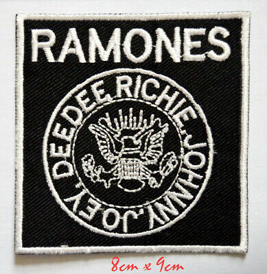 £1.99 • Buy Ramones American Punk Rock Band Sew On Iron On Embroidered Patch #750