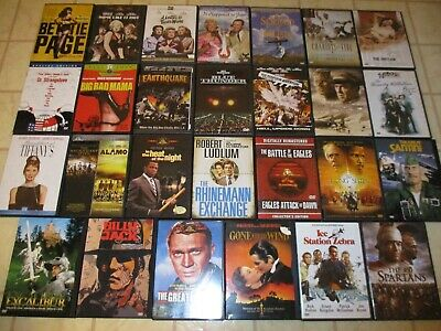 $ CDN47.31 • Buy Lot Of 28 DVDs Older Movie Classics You're Sure To Remember Award Winning Films!