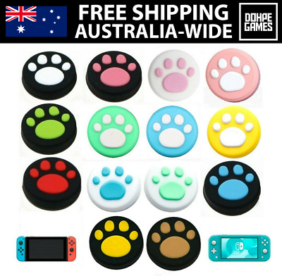 AU4.99 • Buy Nintendo Switch Thumb Grips Lite/Joy-Con Controller Paw Analog Sticks