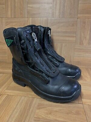 $160 • Buy RARE🔥 HAIX EMS Operations US Steel Toe Firefighter Boots Made In Germany 11.5 W