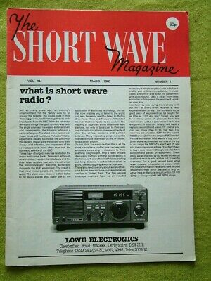 The Short Wave Magazine / March 1983 / The Extended Ground-plane Aerial • 6.49£