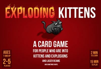 AU35.32 • Buy Exploding Kittens Card Game - Original Edition