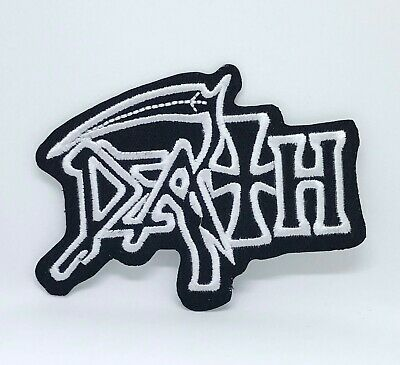 £1.99 • Buy DEATH American Metal Band Iron On Embroidered Patch Logo Heavy Rock Music #828