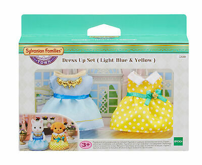 £14.99 • Buy Sylvanian Families Dress Up Set (Light Blue & Yellow) 5370 Role Play Ages 3+