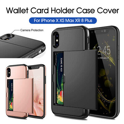 AU7.20 • Buy IPhone X XS Max XR IPhone 8 Plus IPhone 7 Plus MC Wallet Card Holder Case Cover