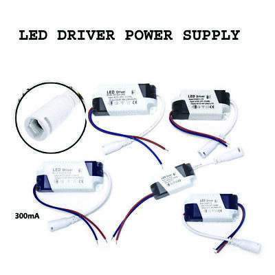 LED Driver Adapter AC85-265V To DC Transformer Panel Power Supply LED Strip • 2.40£