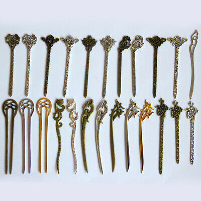 $1.49 • Buy 1PC Vintage Women Chinese Style Hair Pins Stick Wedding Jewelry Accessories
