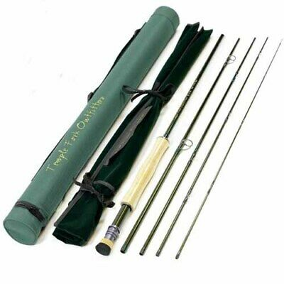 New $325 Temple Fork Outfitters Bvk 9' #6 Weight 5 Pc. Travel Fly Rod--closeout! • 170$