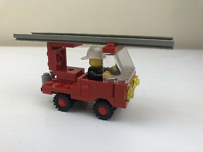 Vintage Lego SET 6621 - Small Fire Engine No Box Or Instructions With Mini • 7.50£