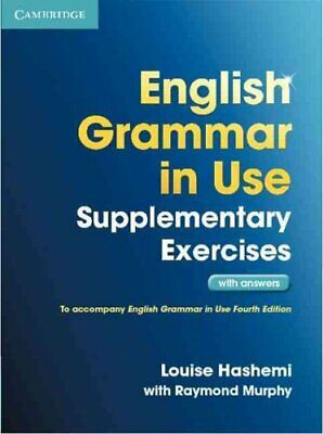 £16.48 • Buy English Grammar In Use Supplementary Exercises With Answers 9781107616417