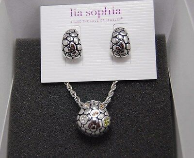 $ CDN37.27 • Buy Lia Sophia EXPEDITION Earrings And Necklace Set/Lot NWT