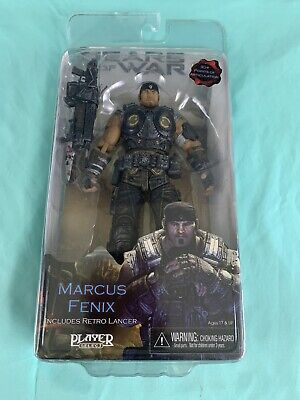 $20 • Buy Gears Of War 3 Marcus Fenix 30+ Points Of Articulation Includes Retro Lancer