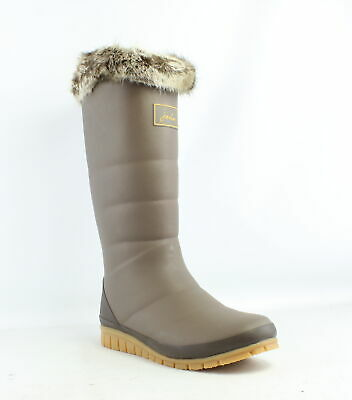 Joules Womens X_Downton Brown Rainboots Size 10 (700748) • 38.39$
