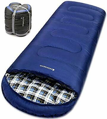 $58.32 • Buy Sleeping Bag Cold Weather Zero 0 Degree Adult Backpacking Military Camping Tall