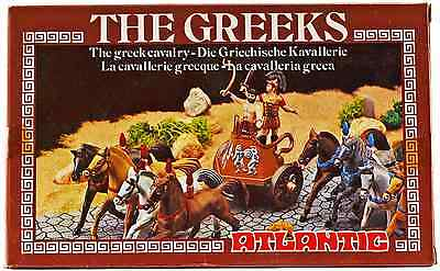 $15.99 • Buy Atlantic Greek Chariot Set - Set 1806 - Mint-in-box - 1/72nd Scale