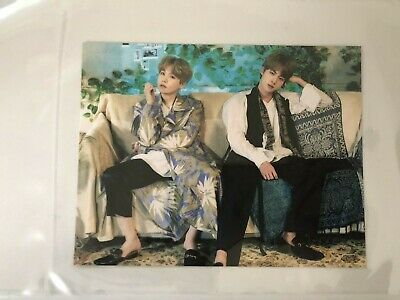 $14.99 • Buy BTS 5th Muster Pop Up Postcard Photocard UNIT Suga Jin Busan Ver