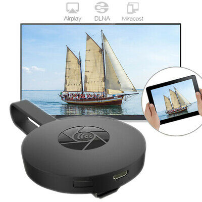 AU25.80 • Buy Miracast HD 1080P TV Media Wirele Android/IOS/Win For Chromecast Black New
