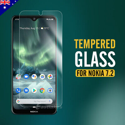 AU4.95 • Buy 2x 9H Film Guard Anti-Scratch Tempered Glass Screen Protector For Nokia 7.2 6.2