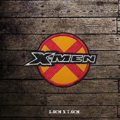 £2.09 • Buy X MEN Super Hero Movie Embroidered Iron On Sew On Patch Badge