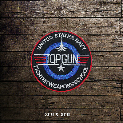 £2.09 • Buy Top Gun Video Game Embroidered Iron On Sew On Patch Badge For Clothes Etc