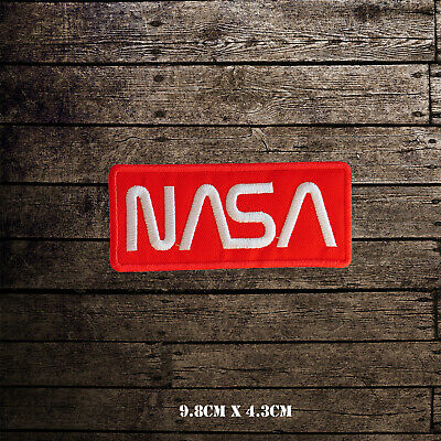 £2.09 • Buy NASA USA Logo Embroidered Iron On Sew On Patch Badge For Clothes Etc