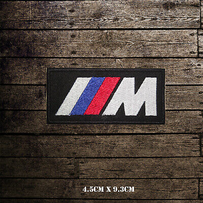 $2.95 • Buy M Power Special Motor Car Brand Logo Embroidered Iron On Sew On Patch Badge
