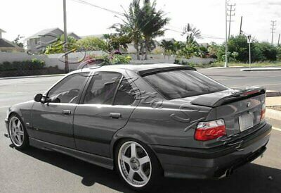 $132.99 • Buy For 92-98 BMW E36 318 325 M3 2DR VIP Carbon Fiber Rear Roof Window Spoiler Wing