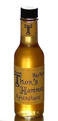 $24.99 • Buy Bay Rum Spice Aftershave, Thor's Hammer Bay Rum, All Natural, 5 Oz