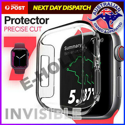 AU10.95 • Buy For Apple Watch Series 4 5 6 SE 40 44 Mm IWatch Clear TPU Screen Protector Case