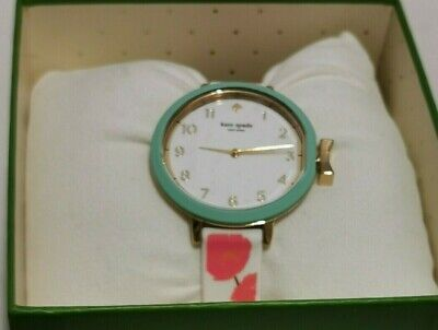 $ CDN93.32 • Buy Kate Spade Women Park Row Floral Silicone Watch KSW1418 NWT