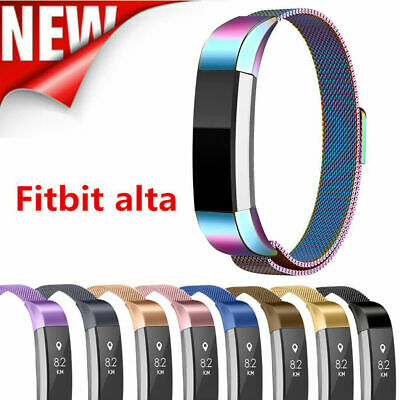 $ CDN11.99 • Buy Band Strap Stainless Steel Magnetic Milan Wristband For Fitbit Alta HR Alta ACE