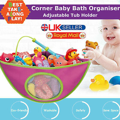Kids Baby Munchkin Bathroom Corner Bath Organiser Tub Holder Tidy Toys Storage • 6.79£