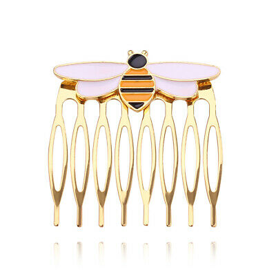 $ CDN6.20 • Buy Little Bee Hairwear Gold Bee Hair Comb For Girls /Women Jewelry Accessories Gift