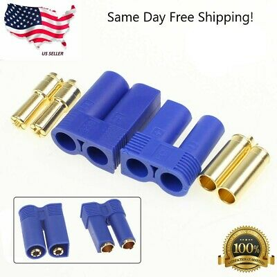 $3.99 • Buy 1 Pair EC5 Device Connector Plug For RC Car Plane Helicopter Battery Lipo ESC