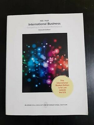 £30 • Buy International Business: Competing In The Global Marketplace NEW Hill Charles W.