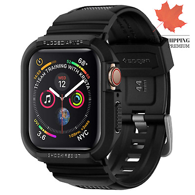 $ CDN24.14 • Buy Rugged Armor Pro Designed For Apple Watch Case For 44mm Series 5 Series 4 - B...