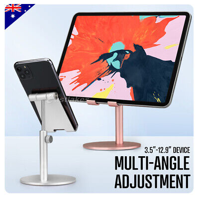 AU16.95 • Buy For IPad IPhone Samsung Adjustable Aluminum Tablet Stand Holder Desk Table Mount