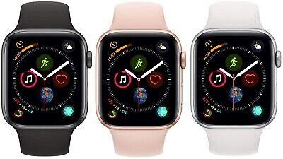 $ CDN433.06 • Buy Apple Watch Series 4 40mm 44mm GPS + Cellular 4G LTE Gold Space Gray Silver MINT