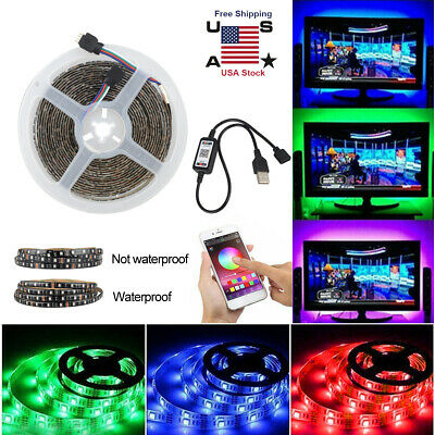 $12.17 • Buy Bluetooth Wifi Control Wireless LED Lighting Strip For TV LCD Monitor Background