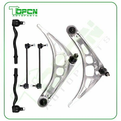 $120.10 • Buy Suspension Kit Fits E46 3 Series Lower Control Arms Tie Rod Ends Sway Bar K90515