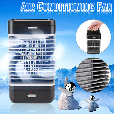 AU19.99 • Buy Portable Air Conditioner Mini Fan Cooler Cooling Humidifier System Home Office