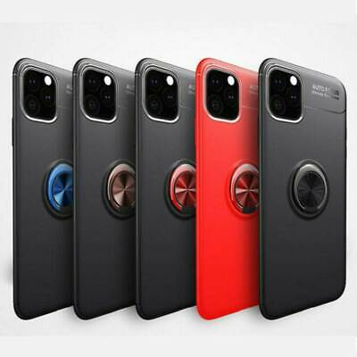 AU7.66 • Buy Slim Back Magnet Ring Holder Stand Case Cover For IPhone 11 Pro Max XS With Film