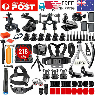 AU43.99 • Buy 218 Accessories Pack Case Chest Head Floating Monopod GoPro Hero 7 6 5 4 3+ 2