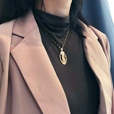 AU5.99 • Buy Vintage Geometric Alloy Long Necklace For Women Sweater Necklace Jewelry LG