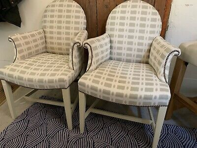 Luxury Designer Ex Showhome Armchair In Designers Guild Fabric 2 Available • 425£